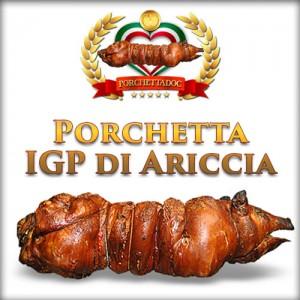 Porchetta Intera, IGP con testa 30 Kg.