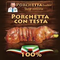 Porchetta con testa | Porchetta IGP di Ariccia.Come si produce la porchetta
