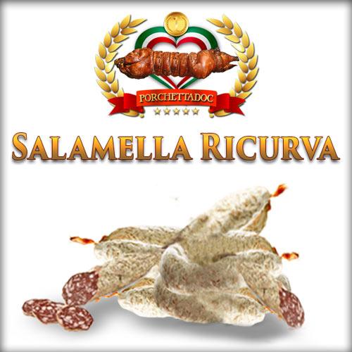 Salamella ricurva di Ariccia