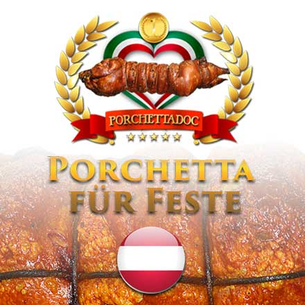 Porchetta für Feste
