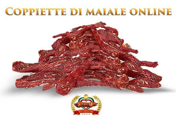 Coppiette di maiale online. Confezione 500 grammi Coppiette di maiale on line Coppiette di Suino 500 Gr.