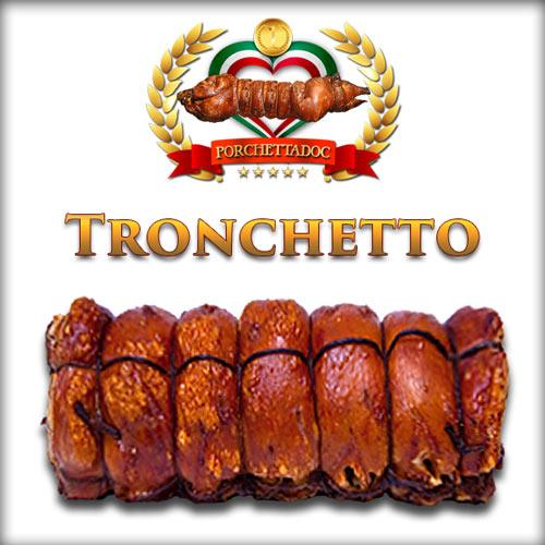 Tronchetto Porchetta di Ariccia 4 Kg.