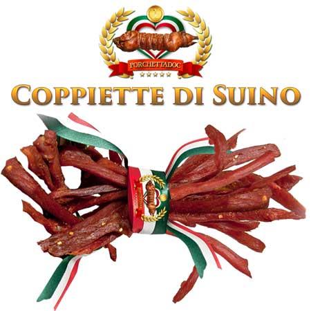Prezzo Coppiette di Suino o coppiette di Maiale 26,8 € al Kg.