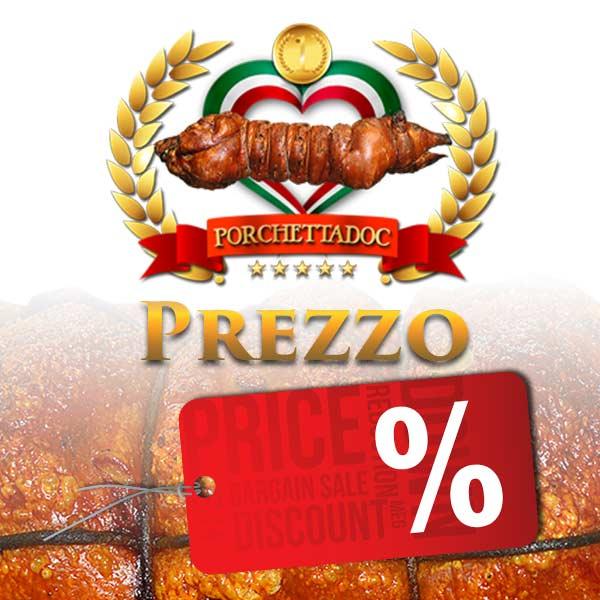 Prezzo della porchetta IGP al Kg. Prezzo della porchetta