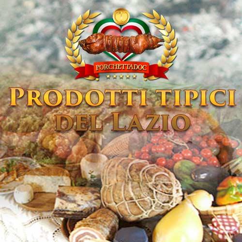 Prodotti tipici del Lazio