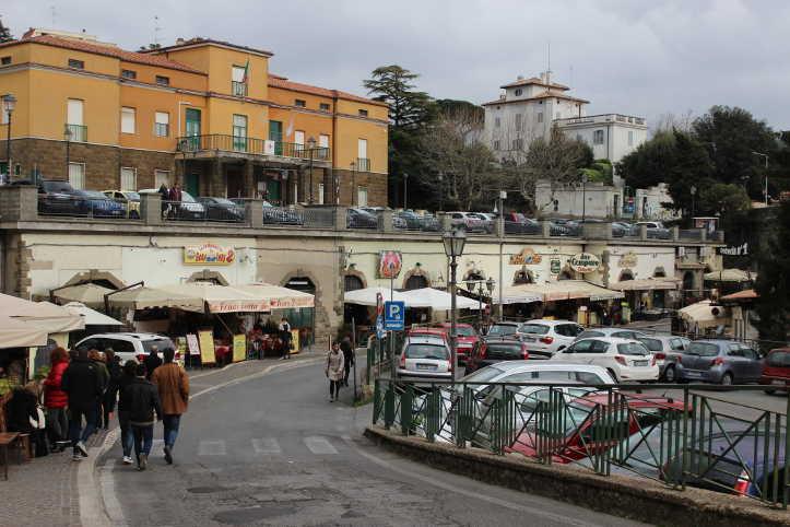 Ariccia fraschetta- Quelle su via borgo san Rocco