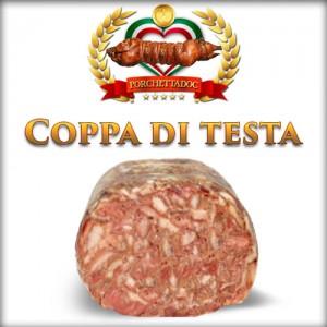 Coppa di Maiale online Coppa di testa di maiale 2,5 Kg.