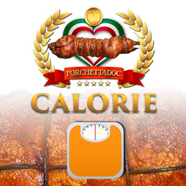 Calorie della porchetta per 100 grammi