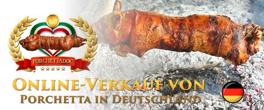 Porchetta von Ariccia online Verkauf Deutschland
