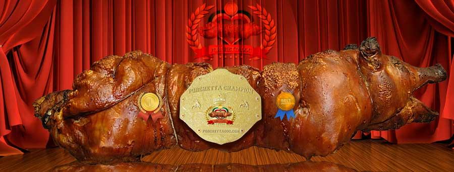 Porchetta Grillen
