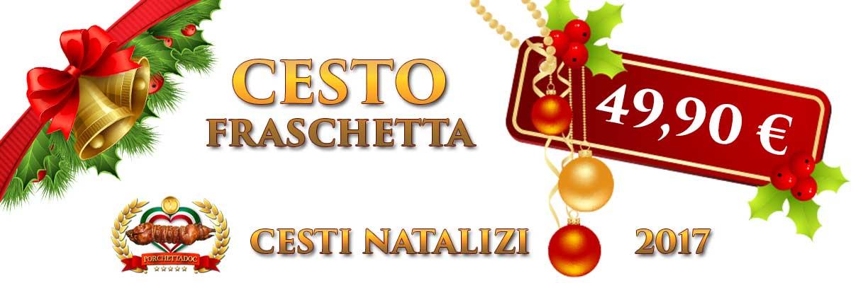 Cesto online natalizio Cesto Natalizio online fraschetta