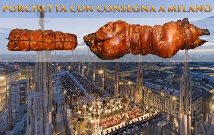 Porchetta Milano con consegna in 24 ore