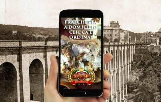 Fraschetta domicilio Roma consegna gratuita pagamento alla consegna