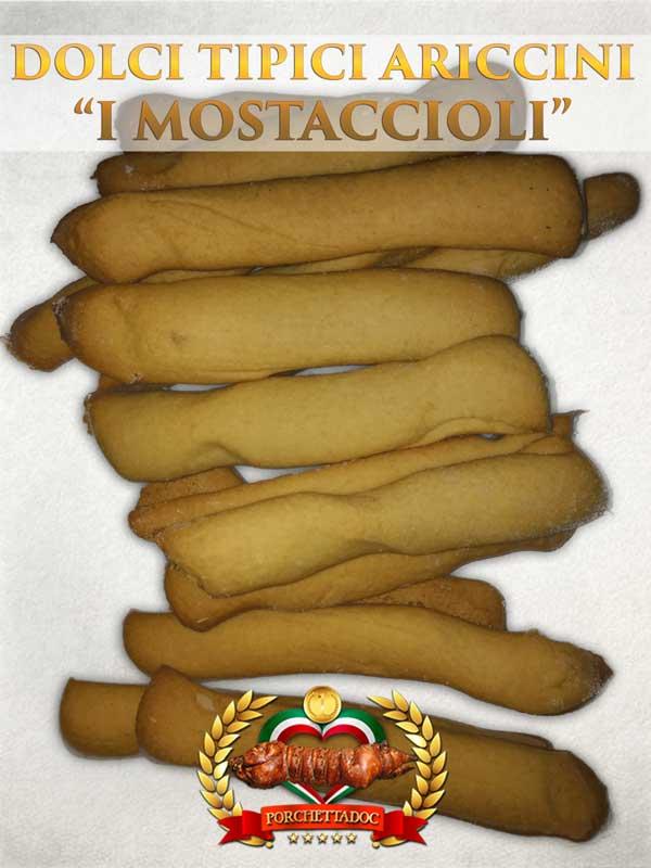 """Dolci tipici del Lazio e di Ariccia """"i Mostaccioli"""""""