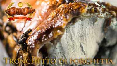 Tronchetto porchetta Ariccia online trancio di porchetta da 4 a 10 Kg