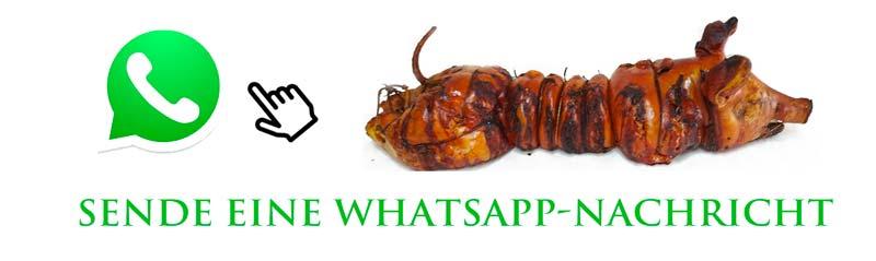 Porchetta Berlin Sende eine WhatsApp-Nachricht Porchetta Berlin Deutschland