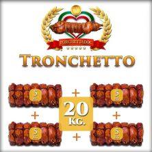 Offerta Tronchetto di Porchetta 20 Kg. (4 pezzi da 5 Kg) Spediti sottovuoto dal nostro laboratorio