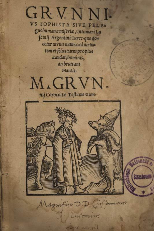 Il Testamentum porcelli (Il testamento del maiale) è una breve scrittura latina, probabilmente della metà del IV secolo, che scherzosamente si pretende essere il testamento del maialino Marco Grunnius Corocotta.